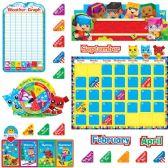 48 Units of Trend BlockStars Calendar Bulletin Board Set - Calendar