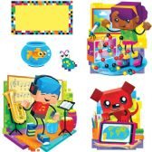 48 Units of Trend BlockStars! Bulletin Board Set - Bulletin Boards & Push Pins