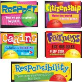 60 Units of Trend Character Education Bulletin Board Set - Bulletin Boards & Push Pins