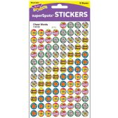 Trend Cheer Words Super Sport Stickers - Classroom Learning Aids
