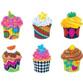 108 Units of Trend Classic Accents Cupcake Variety Pack - Classroom Learning Aids