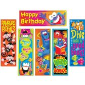36 Units of Trend Clever Characters Bookmark Combo Packs - Classroom Learning Aids