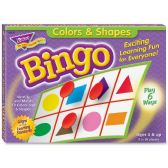 Trend Colors and Shapes Learner's Bingo Game - Classroom Learning Aids