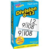 Trend Division Flash Cards - Classroom Learning Aids