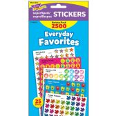 Trend Everyday Favorites Stickers - Classroom Learning Aids