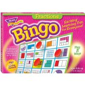 Trend Fractions Bingo Game - Classroom Learning Aids
