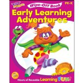 Trend Get Ready For Kindergarten Wipe-off Book Learning Printed Book - Classroom Learning Aids