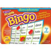 Trend Homonyms Bingo Game - Classroom Learning Aids