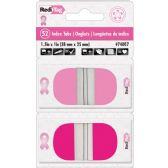 Redi-Tag Pink Breast Cancer Awareness Round Pop-up Index Tabs - Tags
