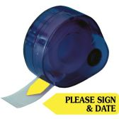 Redi-Tag Please Sign & Date Arrow Tag - Tags