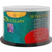 Compucessory CD Rewritable Media - CD-RW - 12x - 700 MB - 50 Pack - Data Media