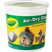Crayola Air-Dry Clay Bucket - Office Supplies