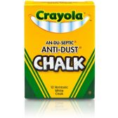 Crayola Anti-Dust Chalk - Office Supplies