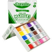 Crayola Classpack Fine Line Markers - Markers