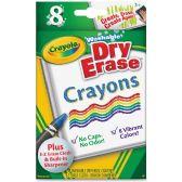120 Units of Crayola Dry-Erase Crayon - Crayon