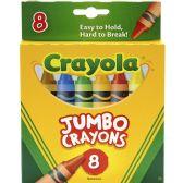 Crayola Jumbo Crayons - Crayon