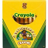 Crayola Large Multicultural Crayon - Crayon