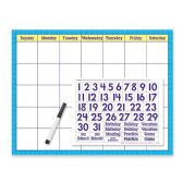 102 Units of Trend Wipe-off Calendar Kit Cling Numeral - Calendar