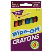 192 Units of Trend Wipe-Off Crayons - Crayon