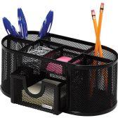 Rolodex Mesh Oval Pencil Cup - Pens & Pencils