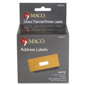 30 Units of Maco Direct Thermal Printer Labels - Labels