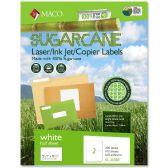 Maco Printable Sugarcane Mailing Labels - Labels