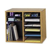 Safco Adjustable 12-Compt. Literature Organizer - Organizer