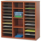 5 Units of Safco Après Modular Storage Literature Organizer - Organizer