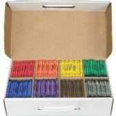 Dixon Master Pack Regular Crayons - Crayon