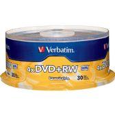 Verbatim 4x DVD+RW Media - Data Media