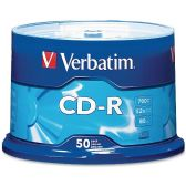 Verbatim 94691 CD Recordable Media - CD-R - 52x - 700 MB - 50 Pack Spindle - Data Media