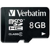 96 Units of Verbatim 96807 8 GB microSD High Capacity (microSDHC) - Flash Drives
