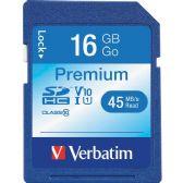 Verbatim 96808 16 GB Secure Digital High Capacity (SDHC) - Flash Drives