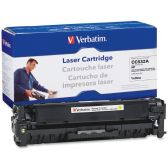 8 Units of Verbatim HP CC532A Compatible Yellow Toner Cartridge - Ink & Toner Cartridges