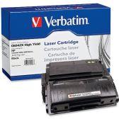 8 Units of Verbatim HP Q5942X Compatible HY Toner Cartridge - Ink & Toner Cartridges