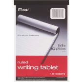 Mead Top-bound Writing Tablet - Note Books & Writing Pads