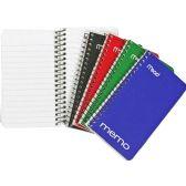 Mead Wire Binding Coil Memo Notebooks - Binders