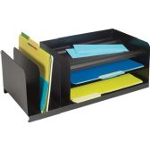 12 Units of MMF 7-Compartment Legal-Size Organizer - Organizer