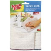 3M Microfiber Kitchen Cleaning Cloth - Janitorial Supplies