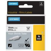 Dymo Rhino Heat Shrink Tube Wire & Cable Label - Cable wire
