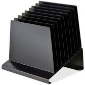 18 Units of MMF Quick View Slanted Vertical Organizer - Organizer