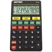 18 Units of Victor V14 Personal Financial Calculator - Office Calculators
