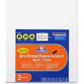 0 Units of Elmer's Dry Erase Foam Board - Dry erase