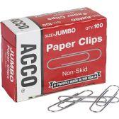 Acco Economy Non-Skid Paper Clip - Paper