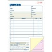 Adams 3-Part Carbonless Purchase Order Forms - Order book