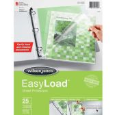 30 Units of Wilson Jones EasyLoad Sheet Protector - Sheet protector