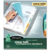 48 Units of Wilson Jones Multi Colored Tab Divider - Dividers & Index Cards