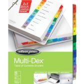 72 Units of Wilson Jones MultiDex Divider - Dividers & Index Cards