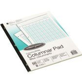 Wilson Jones Side-Bound Punched Columnar Pads - Writing