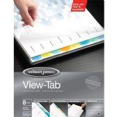 60 Units of Wilson Jones View-Tab Paper Divider - Paper